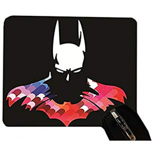 Desktop Office Silicone Mouse Pad by Trendy Accessories (Bat Man Hero)