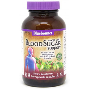 Bluebonnet Nutrition Targeted Choice Blood Sugar Support Herbal Blend, 90 Count