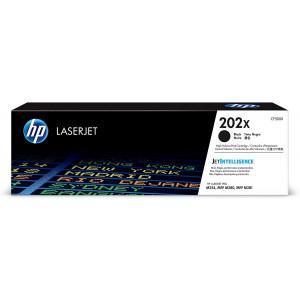 HP 202X | CF500X | Works with HP LaserJet Pro M254, M281cdw, M281dw | Toner Cartridge | Black | High Yield