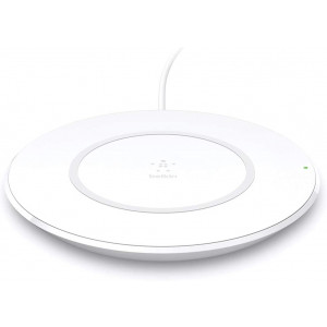 Belkin Wireless Charger (7.5W Boost Up Wireless Charging Pad, Fast iPhone Wireless Charger for iPhone 11, 11 Pro, 11 Pro Max, AirPods 2, more (Works with Samsung, Google, LG, Sony, more)