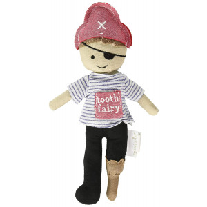 Mud Pie Men's Pirate Tooth Fairy Doll Multi One Size