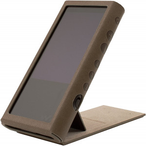 MITER Case for Sony NW-ZX300, Hand Crafted MITER Case Cover [ Patented Stand Case for Sony Walkman ZX300 ] (Brown)