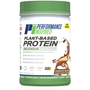 Performance Inspired Nutrition Plant-Based Protein, Chocolate Delight, 1.5 Lb, Style #: Ppchoc