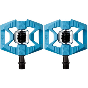 Crankbrothers Doubleshot Hybrid Bike Pedal - Flat/Clipped-In City Bicycle Pedal, Premium Bearings and Seals