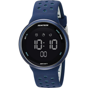 Armitron Sport Unisex 40/8423 Digital Chronograph Silicone Strap Watch