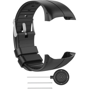 RuenTech Bands Compatible for Polar M400 Watch Strap Replacement Soft Silicone Wristband Sports Band Compatible with Polar M400 and M430 GPS Smart Sports Watch
