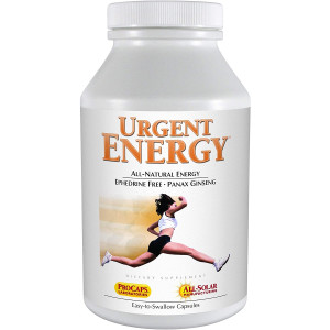 Andrew Lessman Urgent Energy 60 Capsules  Provides a Safe, Healthy Means of Enhancing Energy Levels and Feelings of Well-Being, with Green Tea, Guarana, Ginseng, Royal Jelly, Ashwagandha, B-Complex