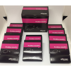 Oticon Prowax Minifit Wax Filters replacements for hearing aids (10 PACKS)