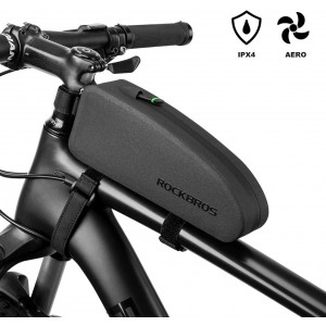 ROCKBROS Bike Frame Bag Waterproof IPX4 Top Tube Bag Bicycle Front Phone Bag Cycling Accessories Pouch