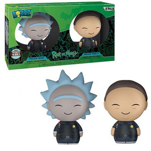 Funko Pop Dorbz Specialty Series: Rick and Morty Police Vinyl Figures (2 Pack)