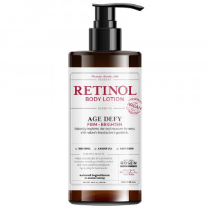 Rosen Apothecary Anti-Aging Retinol Body Lotion - Age Defy - Body Firms and brightens 32oz / 960ml