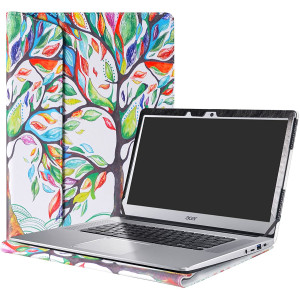 """Alapmk Protective Case Cover for 15.6"""" Acer Chromebook 15 CB515-1HT Series Laptop (Such as CB515-1HT-P39B,NOT Compatible with Older C910/CB5-571/CB3-531 Series),Love Tree"""