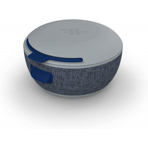 iFrogz 302101371 Audio - Wireless Earbud Charging Case - Portable Power - Gray/Navy