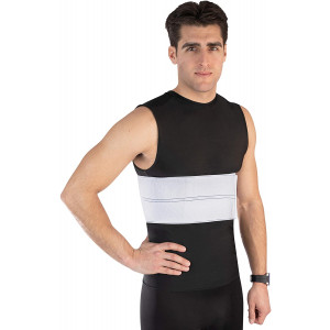 """NYOrtho Elastic Rib Support Belt - Torso Compression Binder Brace for Men and Women 