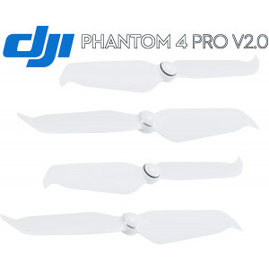 DJI Phantom 4 Pro V2.0 New 9455S Low-Noise Quick-Release Propellers 2 Pairs Pack,White with Luckybird USB Reader