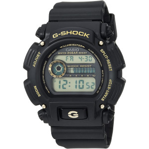Casio Men's G-Shock Quartz Watch with Resin Strap, Black, 25 (Model: DW-9052GBX-1A9CR)