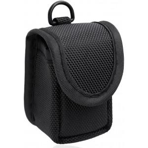 MIBEST Black Pulse Oximeter Case - Nylon O2 Saturation Monitor Case - SPO2 Pulse Oximeter Carry Case - Portable Oxygen Sensor Carry Pouch - Fingertip Oximeter Case