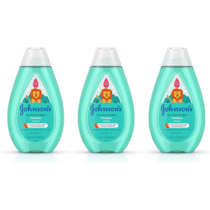 Johnson's No More Tangles Detangling Shampoo for Toddlers and Kids, Gentle No More Tears Formula, Hypoallergenic and Free of Parabens, Phthalates, Sulfates and Dyes, 13.6 fl. Oz (Pack of 3)