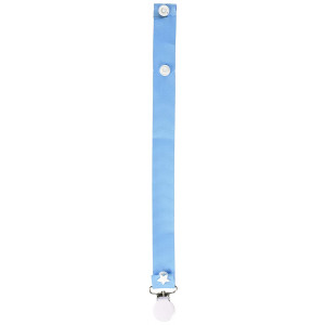Pretty Paci Pacifier Clip, Baby Blue