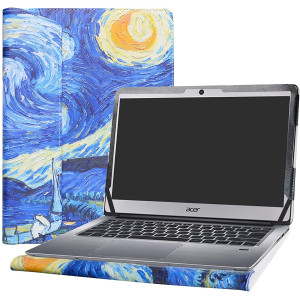 """Alapmk Protective Case Cover for 14"""" ACER Swift 3 14 SF314-51 SF314-52 SF314-52G SF314-53G Series Laptop(Warning:Not fit Swift 3 14 SF314-54 SF314-54G Series),Starry Night"""