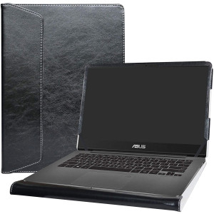 "Alapmk Protective Case Cover For 14"" Asus ZenBook UX430UA UX430UN UX410UA UX410UQ and ASUS VivoBook S14 S430UN Series Laptop(Warning:Not fit ZenBook 3 UX490UA and VivoBook S410UN ),Black"