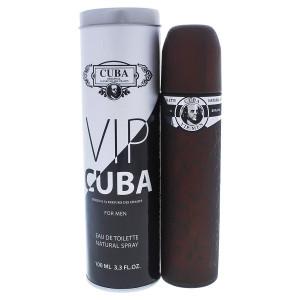 Cuba Edt Spray for Men, Vip, 3.3 Oz