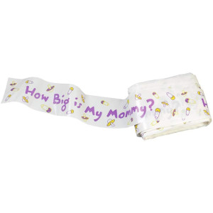 Simplicity Measure Belly Baby Shower Game, 1pc, 150ft L x 0.1'' W x 2''H