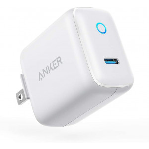 USB C Charger, Anker 15W 5V/3A Powerport C 1 Type C Wall Charger, Super Compact with LED Indicator, Foldable Plug for Iphone XS/Max/XR/8/Plus, Pixel 3/2/XL, Ipad Pro, Galaxy S10/S9/Plus and More