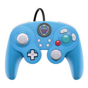 PDP 500-100-NA-D2 Nintendo Switch Legend of Zelda Link GameCube Style Wired Fight Pad Pro Controller