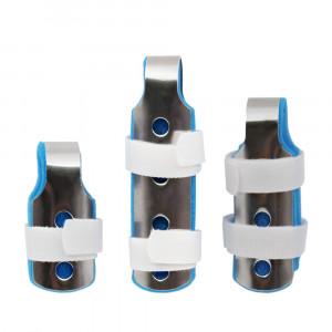 XHIVAR Finger Splint Support for Trigger Mallet Broken Arthritis Fingers Protector straightening immobilizer 3-Size Pack