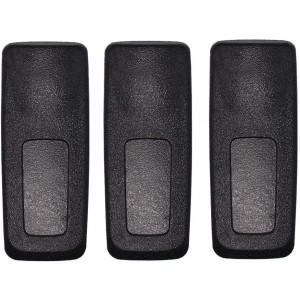 PMLN4651 PMLN4651A Belt Clip Compatible for Motorola Radio XPR3300 XPR3300e XPR3500 XPR3500e XPR7550 XPR7550e XPR7350 XPR7350e XPR7580 XPR7580e XPR7380 XPR7380e DP4400 DP4600 DP4800 APX4000 (3 Pack)