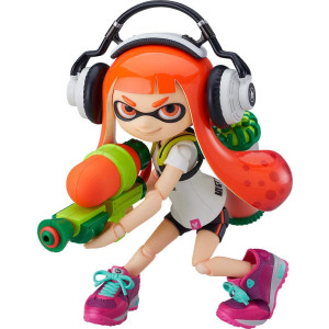 Good Smile figma Splatoon Splatoon Girl Non-Scale ABS and PVC Painted Action Figure