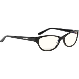 Computer Reading Glasses | Blue Light Blocking Reading Glasses| Jewel Pwr 3.00/Onyx by Gunnar | 35% Blue Light Protection, 100% UV Light, Anti-Reflective To Protect and Reduce Eye Strain and Dryness