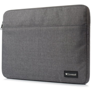 11-12 Inch Laptop Sleeve, Dovesail Spill-Resistant Carrying Case Compatible 11-11.6 Inch MacBook Air,MacBook 12-Inch with Retina Display 2017/2016/2015 Release Laptop Bag,Gray