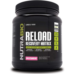 NutraBio Reload  Post Workout Recovery (30 Servings, Kiwi Strawberry)