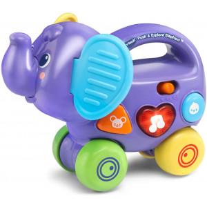 VTech Push and Explore Elephant, Purple