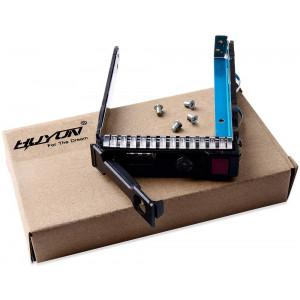 "2.5"" SAS SATA SFF SAS Drive Tray Caddy 651687-001 651699-001 for HP Gen8 ML350p DL360e DL320e DL380e SL270 s230"