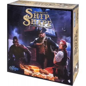 Calliope Games ShipShape 3D Puzzle and Bidding Boardgame