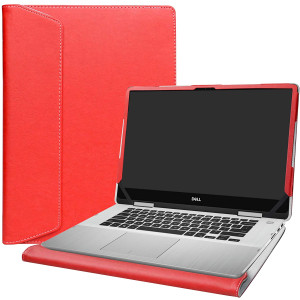 """Alapmk Protective Case Cover for 15.6"""" Dell inspiron 15 2-in-1 7586 i7586 and Acer Aspire 7 15 A715-73G Laptop[Note:Not fit inspiron 15 7580/Aspire 7 A715-74G A715-71G A715-72G],Red"""