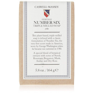 Caswell-Massey Heritage Number Six Bar Soap, 5.8 Ounce