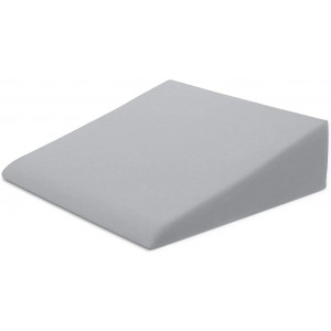 """Xtreme Comforts Bed Wedge Pillow Case - Microfiber Cover Designed to Fit Our (27 'x 25"""" x 7"""") Bed Wedge Pillow (Gray)"""