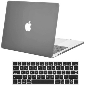 Skyera 13 Inch MacBook Pro Case/Keyboard Cover- Plastic Rubber Cases for Apple MacBook Pro 13 Inch with/Without Touch Bar and Touch ID- Laptop Covers for A2159 A1989, A1706, A1708, 2016-2019 Release
