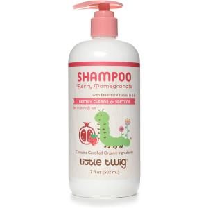 Little Twig Shampoo, Natural Plant Derived Formula, Berry Pomegranate, 17 fl oz.