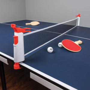 EastPointSports Penn Everywhere Table Tennis NET Set: 5-FT Retractable NET, 2-Paddles, 3-Balls