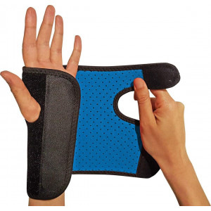 RiptGear Wrist Brace for Women and Men  Adjustable Support with Removable Splint - Wrist Sprains, Carpal Tunnel Syndrome, Tendonitis - Reinforced Construction  Wrist Brace Right Hand (Right)