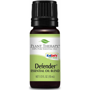 Plant Therapy Defender Blend 10 mL (1/3 oz) 100% Pure Undiluted Blend of Uplifting and Immune Supporting Essential Oils