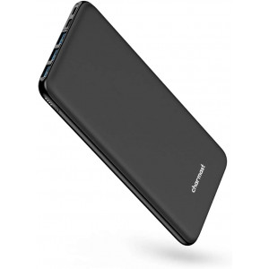 USB C Power Bank, 26800mAh Portable Charger USB C, Charmast Slim Thin 3A High-Speed Battery Pack Type C with 3 Input and 4 Output Compatible with MacBook, iPhone, Nintendo Switch, Samsung, Pixel etc.