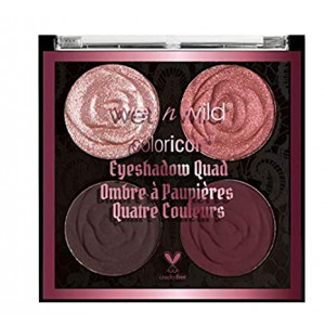 wet n wild Rebel Rose Color Icon Eyeshadow Quad, Bed Of Roses