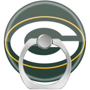 Universal Phone Grip Holder, Expanding Grip Socket for Cellphones,Rotation Pop Grip Holder for Phones, iPad and Tablet-Green Bay Packers