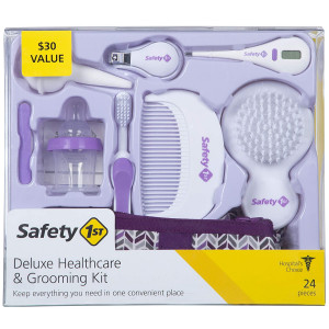 Safety 1st Deluxe Healthcare and Grooming Kit, Pyramids Grape Juice, Pyramids Grape Juice, One Size